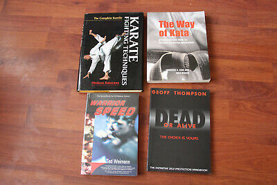 Karate Techniques/The Way Of Kata/Warrior Speed/Dead Or Alive Martial Art Books.