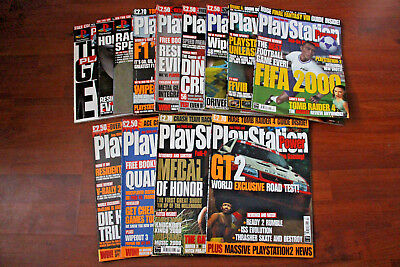 Job Lot Of Playstation Power Magazines, (Lot 2).