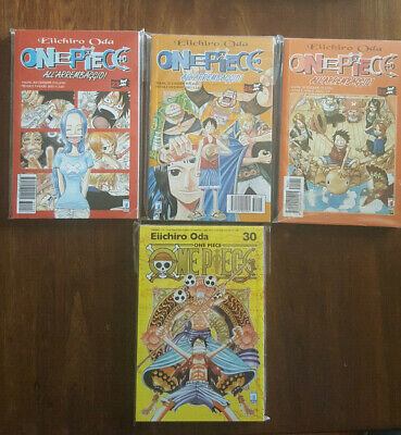 One Piece Volumi 23 24 32 -1 Edizione + Volume 30 New Edition