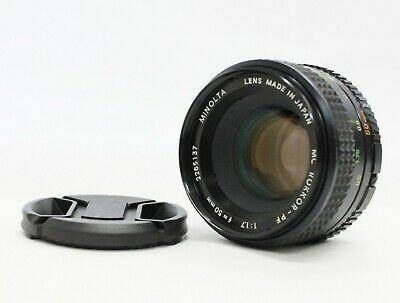 [Excellent+++] Minolta MC Rokkor-PF 50mm F/1.7 MF Lens for MD Mount from Japan