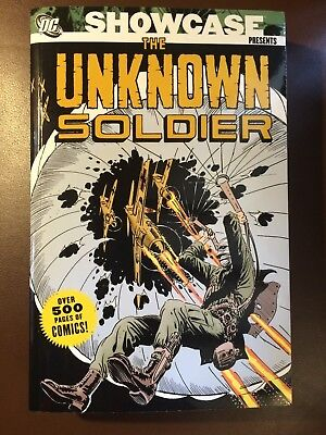 DC : SHOWCASE PRESENTS THE UNKNOWN SOLDIER Volume 1,  VFN, TPB Graphic Novel