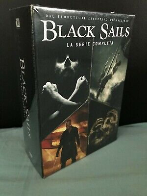 Black Sails Stagioni 1-4 (15 Dvd) Italiano Sigillato Serie Tv Completa Original