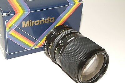 Minolta MD fit Miranda f3.5-4.5 35-135mm lens