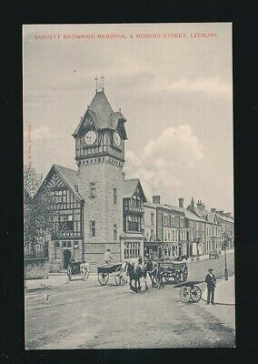Herefordshire LEDBURY Homend St c1900s? PPC by Tilley