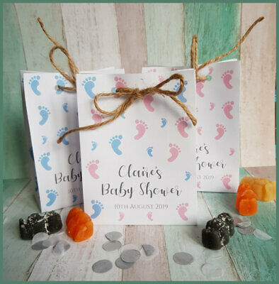 Multipacks - Personalised Baby Shower Favour Paper Bags