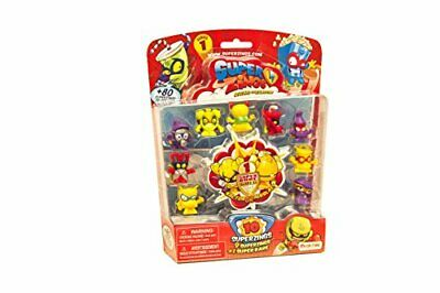 Superzings Rivals of Kaboom Blíster con 10 Figuras Magic Box INT Toys SZ1P1300
