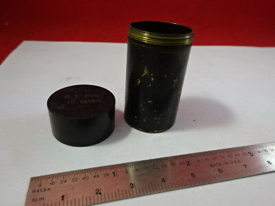 For Parts Empty Container Objective Bausch Lomb Optics Microscope Part &92-18