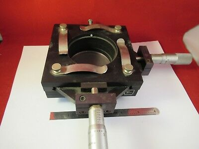 R.s. Wilder Stage Micrometer Table Specimen Microscope Part Barnes &Ag-A-07