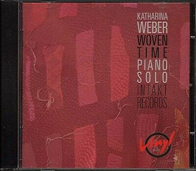 CD Katharina Weber - Woven Time INTAKT 157 IMPROVISED SOLO PIANO..NM
