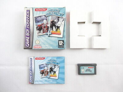 Castlevania Double Pack Nintendo Game Boy Advance Boxed PAL