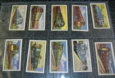 Barratt - Trains of the World 1964 Nos 1-25 - Choose From Selection