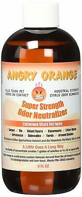 Angry Orange Pet Odor Eliminator | Dog and Cat Odor Remover | Makes 1 Gallon of