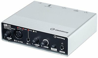 Steinberg UR12 USB2.0 24bit 192kHz USB Audio MIDI Interface