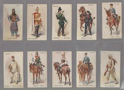 1902 B.a.t. Soldiers Of The World Tobacco Leaf Back Complete Your Set