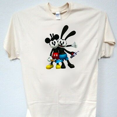 OSWALD The Lucky Rabbit & MICKEY Disney, Cool, BBall & T-SHIRT Size: S-5X,T-259