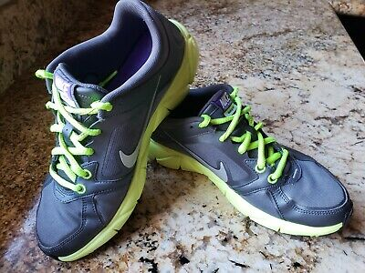 7927d7d44add Women s Nike Free XT Quick Fit+ Running Shoes Grey Lime Size 7 415257-003
