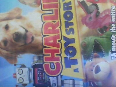 Charlie A Toy Story  (DVD) new sealed free postage