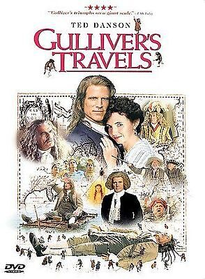 Gulliver's Travels (DVD, 1999) RARE-OOP, TED DANSON, GREAT SHAPE