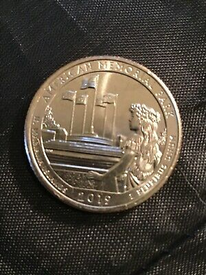 2019 S American Memorial Park Quarter - BU - Direct From The Mint