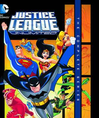 Justice League Unlimited: The Complete Series (Blu-ray Used Very Good)