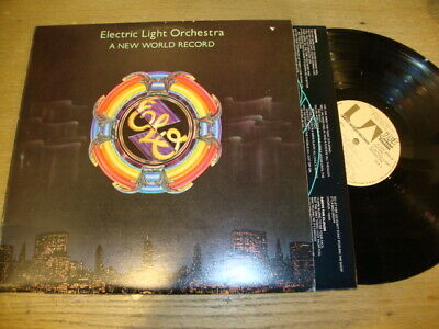 Electric light Orchestra - A New World Record  - LP Record  EX EX