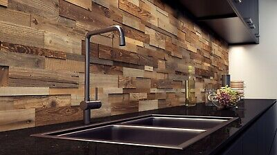3D Wall Panels, Decorative Cladding, Reclaimed Wood, Feature Wall, Wall Tiles
