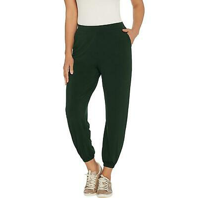 New Lisa Rinna Collection Stretch Knit Cropped Jogger Pants. A341719