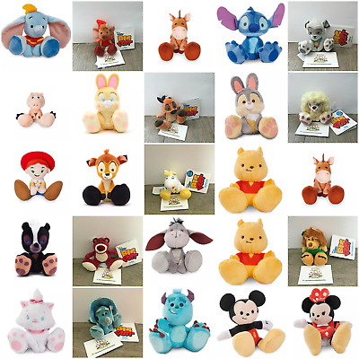 Shop Disney TINY BIG FEET Mini Soft Plush Toy Collectables Disney Store Limited
