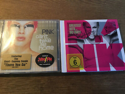 P!nk [2 CD Alben] Greatest Hits ..So Far (+DVD) + Can't Take me Home / PINK