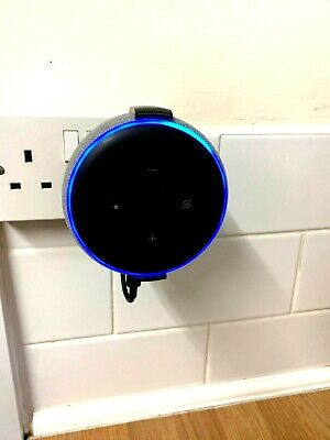 Amazon Echo Dot 3rd Gen Generation Plug Socket Wall Mount Bracket Holder Alexa