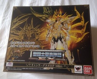 Caballeros Del Zodiaco  Saint Seiya Myth Cloth Soul of Gold cancer death mask