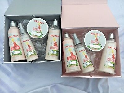 L'occitane  4 Piece Gift Set Shampoo Conditioners In Gift Box-Choice Of Colours