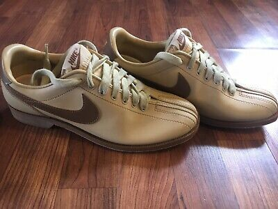 professional sale pretty cheap 50% off 80S NIKE BOWLING Shoes Women's 8 Vintage Cream & Brown ...