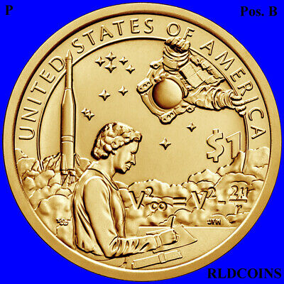 2019 P  Native American Uncirculated Dollar Position B - Indian In Space