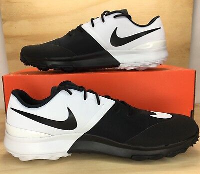 3d25468286fda Nike FI Flex Golf Mens Shoes Size 10W Black White Anthracite Water Repellent