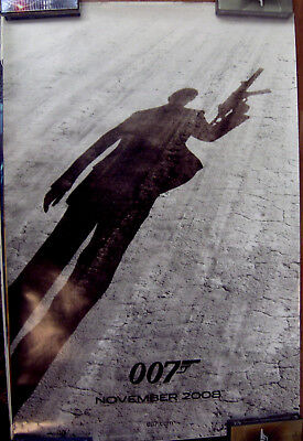 """007 Quantum Of Solace  27"""" X 40"""" One Sheet Original Movie Poster Never Used 2005"""