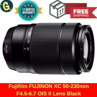 Brand New Fujifilm FUJINON XC 50-230mm F4.5-6.7 OIS II Lens - Black UK