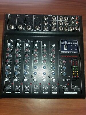 Joe 802e DJ Redbeat Audio Mischpult Mixer Sound Regler