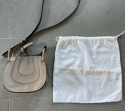 e4a53b85d3 *REDUCED* Authentic CHLOE Nut Brown Leather Hayley Small Hobo Crossbody Bag  $425