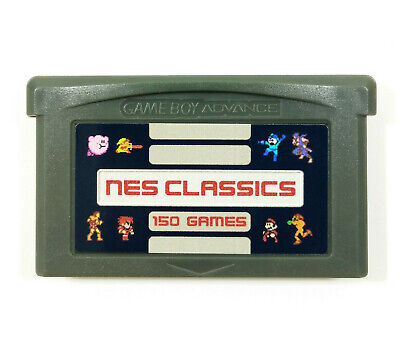 150-in-1 NES Classics Collection GBA Nintendo Gameboy Advance multicart series