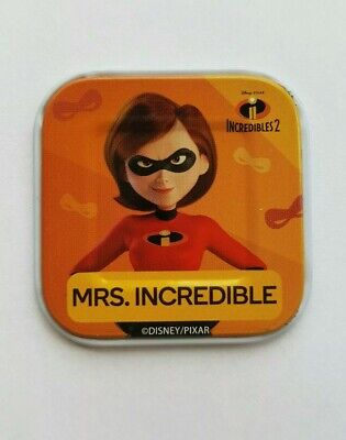 Woolworths Disney Word Tile  Mrs. Incredible -  WILD    RARE