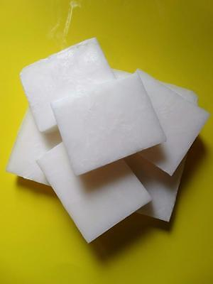 White Opaque Melt and Pour Coconut Oil Soap Making Base with Aloe Vera SLS Free