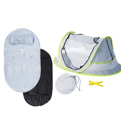 Baby Beach Tent, Portable Baby Travel Bed UPF 50+ Sun Shelters for Infant