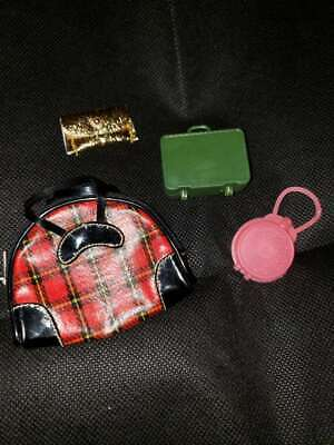 **Vintage Barbie Handbags/Luggage * Unbranded & Hong Kong*