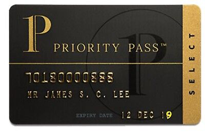1 Year PRIORITY PASS 3ppl American Airlines DELTA UNITED LUFTHANSA Lounge Passes