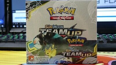 Pokemon TCG Sun And Moon Team Up Booster Box! Sealed! Brand New!
