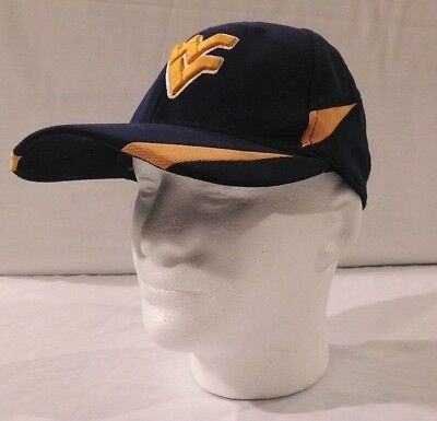 premium selection ccb13 93f9e West Virginia Mountaineers (WVU) NCAA Fitted Navy Hat - One Size S M