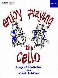 Enjoy Playing the Cello Martindale & Cracknell Oxford 9780193577510 NEW