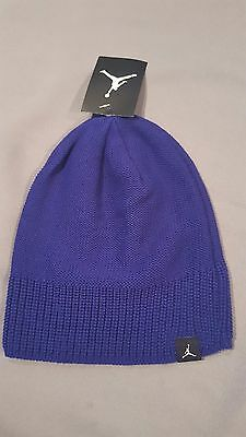 3a7a0e8a3c1 Nike Jordan Jumpman Mens Knit Beanie Hat Purple 801769 482 New With Tag  Adult