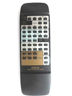 DENON HIFI REMOTE CONTROL RC-829 for DCDF100 DRAF100
